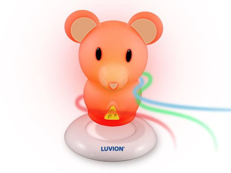 Luvion nachtlampje muis voor de babykamer