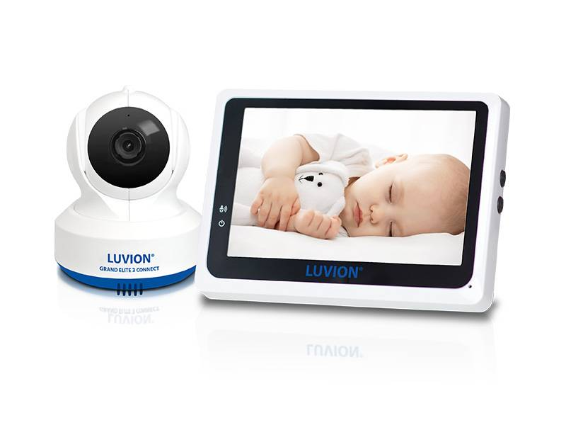 grand elite 3 connect set smart wifi baby monitor