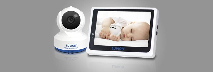 luvion grand elite3 baby monitor with app