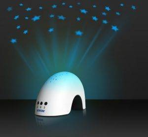 baby night light projector blue