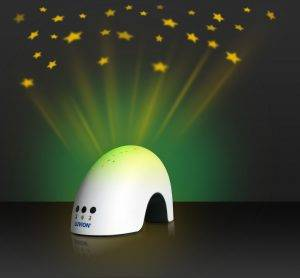 baby night light projector yellow