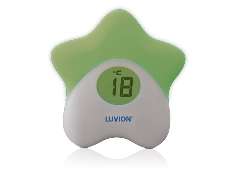 Luvion Baby nursery night light with thermometer