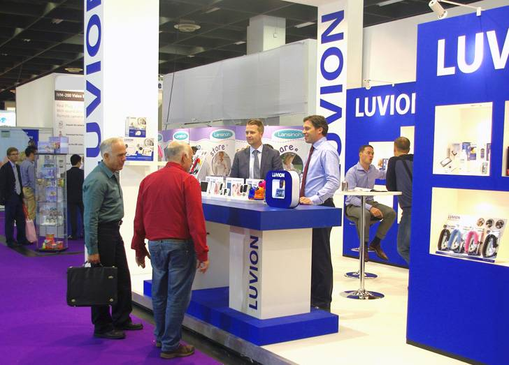 Luvion stand