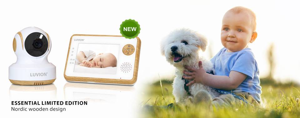 Essential Limited Edition Design Baby Monitor