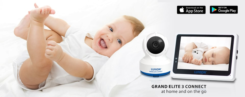 Grand Elite 3 Connect Smart Wifi Baby Monitor