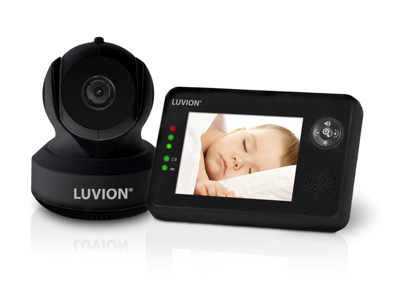 luvion essential black edition baby monitor