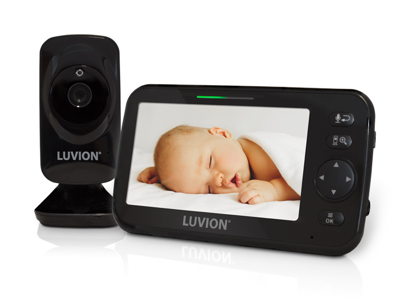luvion icon deluxe black edition babymonitor