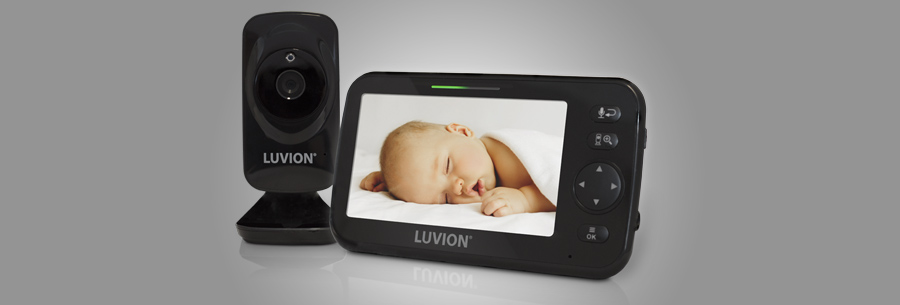 luvion icon deluxe black-edition babyfoon