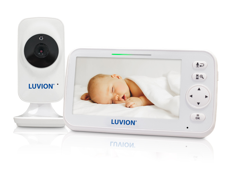 luvion icon deluxe white edition baby monitor