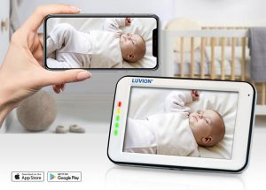 luvion supreme connect 2 baby monitor with app