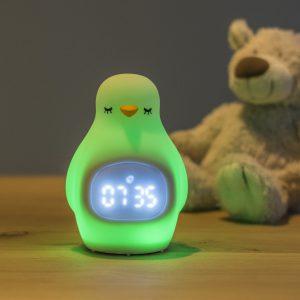 Luvion penguin sleep trainer with nightlight